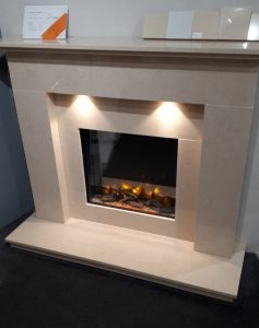 Stafford Micro Marble Fireplace with Infinity 480e electric fire was £1790 NOW £1290 Ex Display