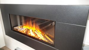 Brilliant Fires New Dawn 1300 Electric Hang on Wall. Was £1080 NOW £699 Ex Display