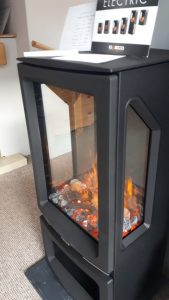 Gazco Vogue Midi T Midline Electric Stove. Was £1349 NOW £899 Ex Display