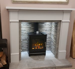 Ash fireplace inc mantle chamber hearth &slips was £1978. NOW £1690.