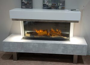 Olympia Electric Suite inc Vel 900 fire, choice of finish , was £1900. NOW £1750